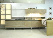 Tủ bếp gỗ Ghép